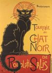Le chat noir - Plakat Steinlen