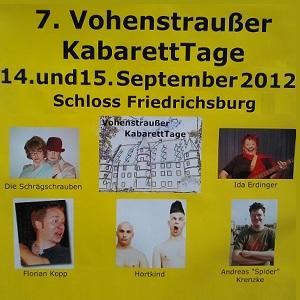 Vohenstraußer Kabaetttage 2012 - Foto BonMoT-Berlin