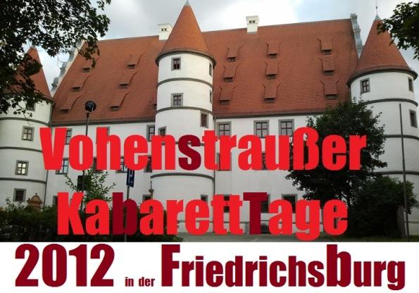 Vohenstraußer KabarettTage_logo 2012