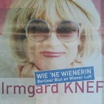 2013-02-09 Irmgard Knef_Plakat - Foto © Carlo Wanka