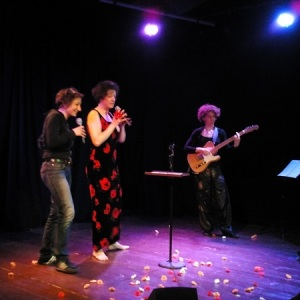 2013-05-04 Lisa Zenner, Corinne Douarre & Rachel Kenesei - Foto Carlo Wanka