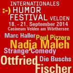 Humorfestival – Velden 2014 – BonMot-Berlin Collage CarloWanka