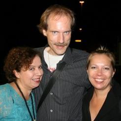 Franziska Traub, Thomas Rah, Doreen Brüggemann - eine Freude Euch zu treffen!