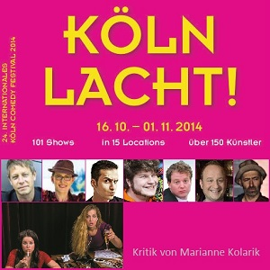 Köln lacht - Collage by Carlo Wanka