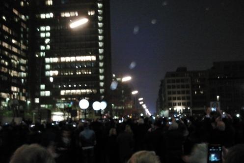 9.11.2014 - 25 Jahre Mauerfall Berlin Germany - die Ballons steigen auf