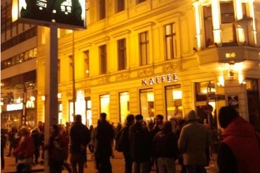 9.11.2014 - 25 Jahre Mauerfall Berlin Germany - am Checkpoint Charlie