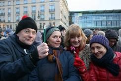 2015-01-11 12 JeSuisCharlie - Berlin - Pigor und Freundinen - Foto © Carlo Wanka