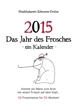 Froschkalender - Schwarze Grütze bei einLächeln.de