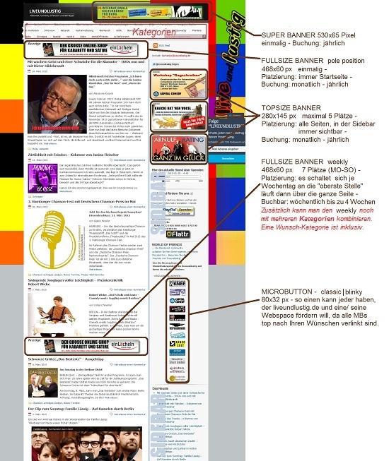 LIVEUNDLUSTIG ScreenShot für Werbung