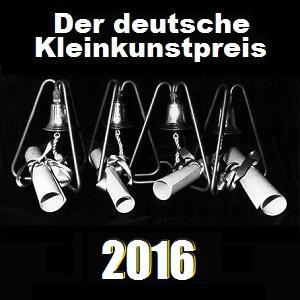 Der deutsche Kleinkunstpreis 2016