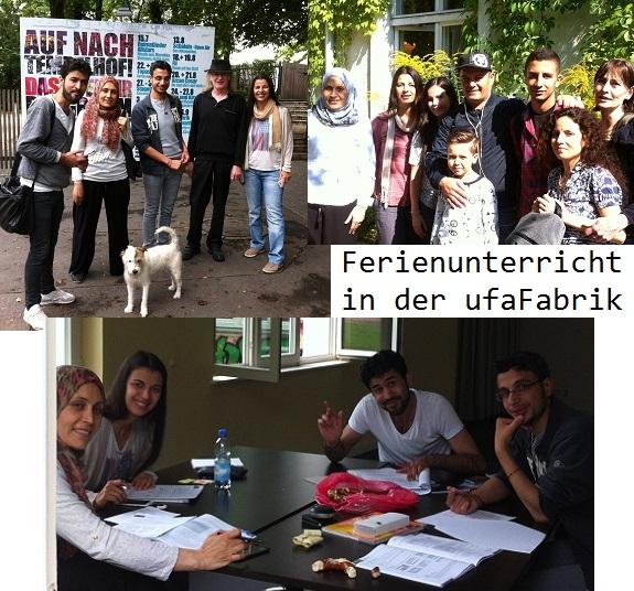 2016-08-05 Ferienschule ufaFabrik - Foto © Beate Moeller