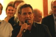 Premiere für Dieter Nuhr - er durfte nach seinen Moderationen das Büffet eröffnen